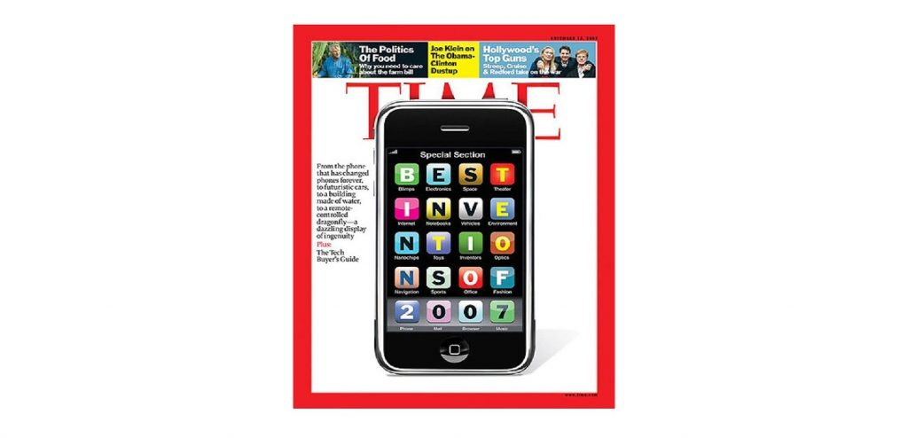 "El iPhone en la revista ""Time"""