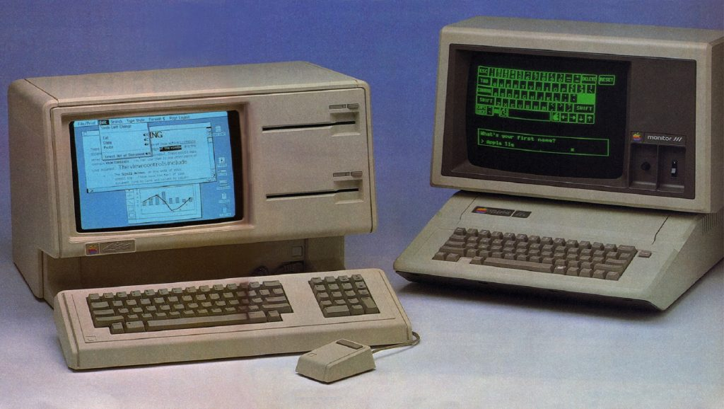 Apple Lisa y Macintosh
