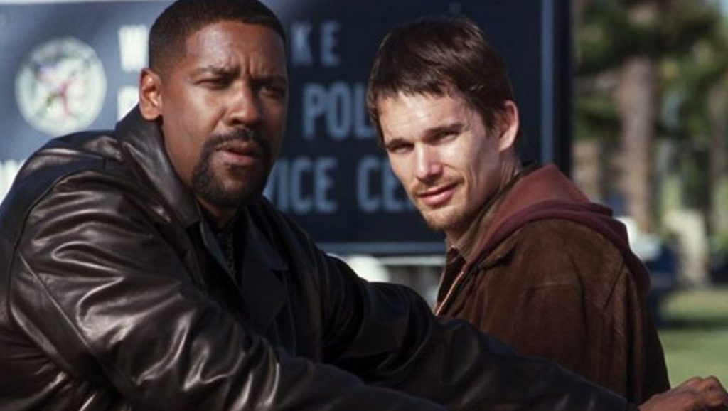 Denzel Washington con Ethan Hawke