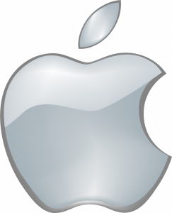 Logo aqua de Apple