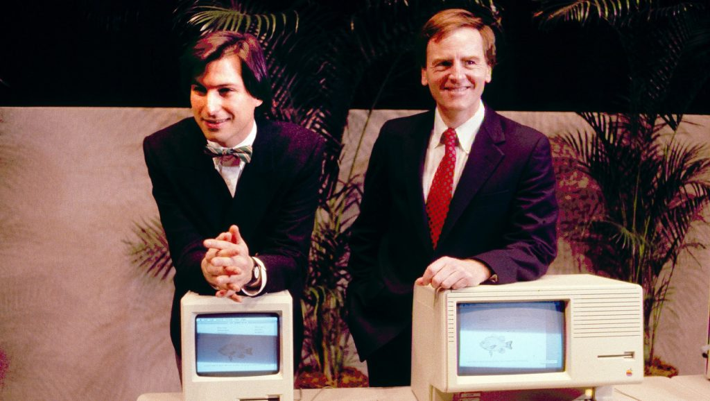 Steven Jobs y John Sculley
