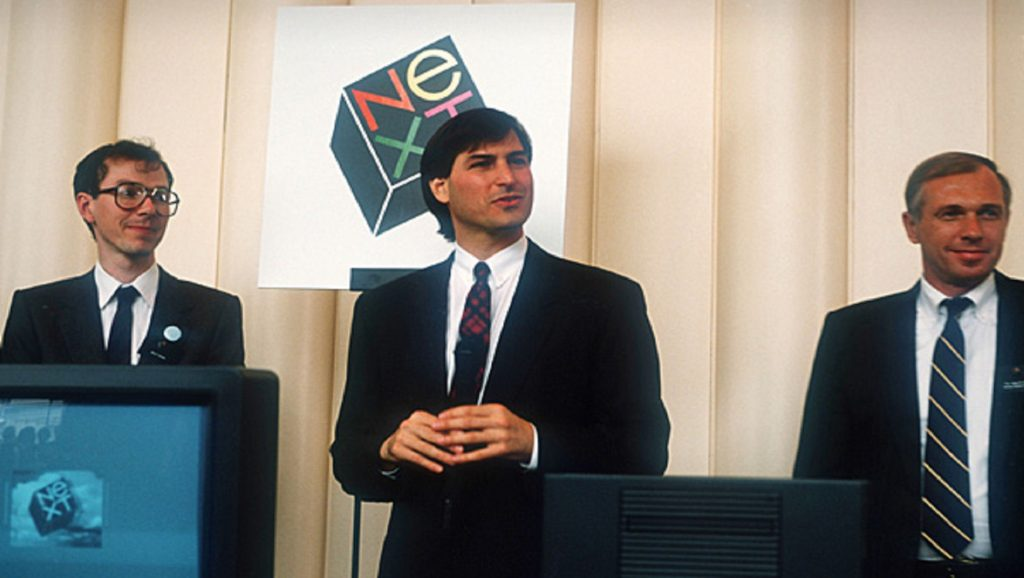 Steve Jobs en Next Inc.
