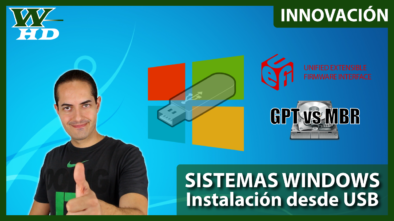 Sistemas Windows: Instalación desde USB