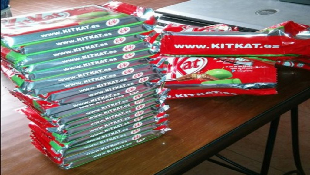 Varios Kit Kats