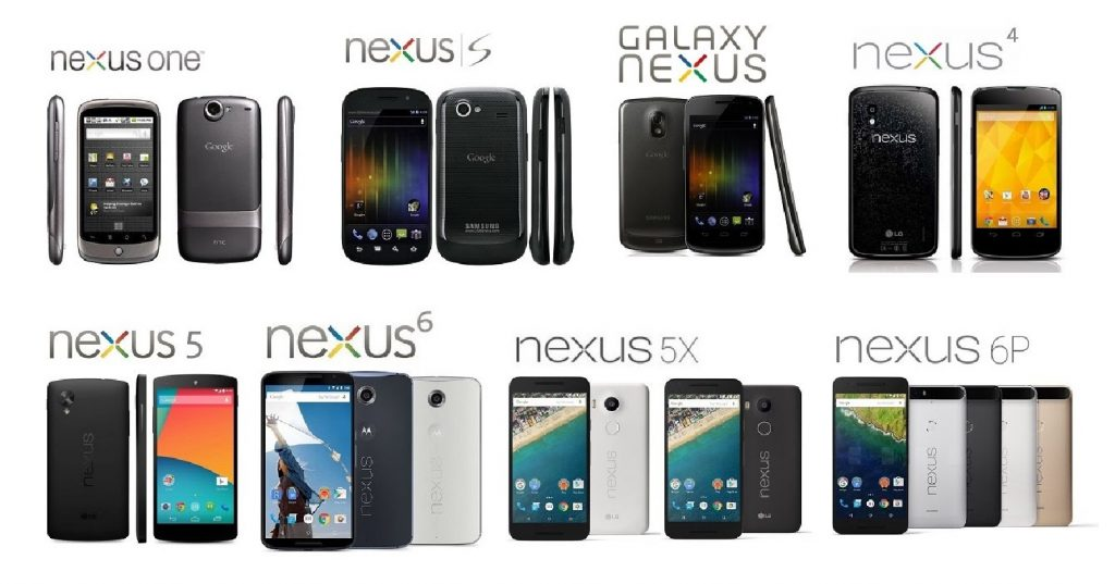 Dispositivos Nexus