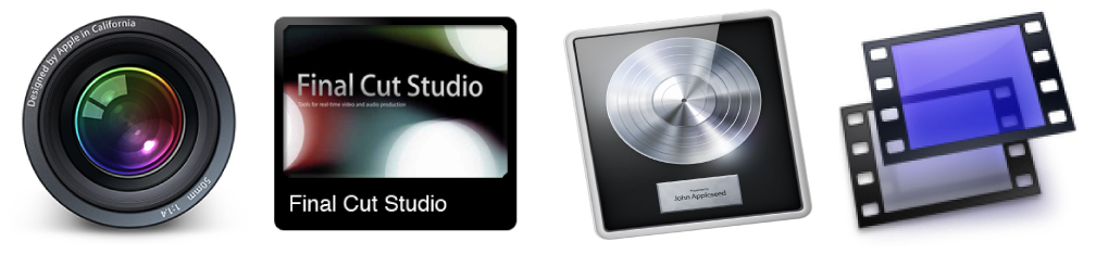 Software de Apple: Aperture, Final Cut, Logic y Shake