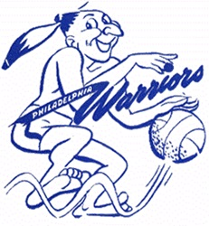 Escudo original de los Philadelphia Warriors
