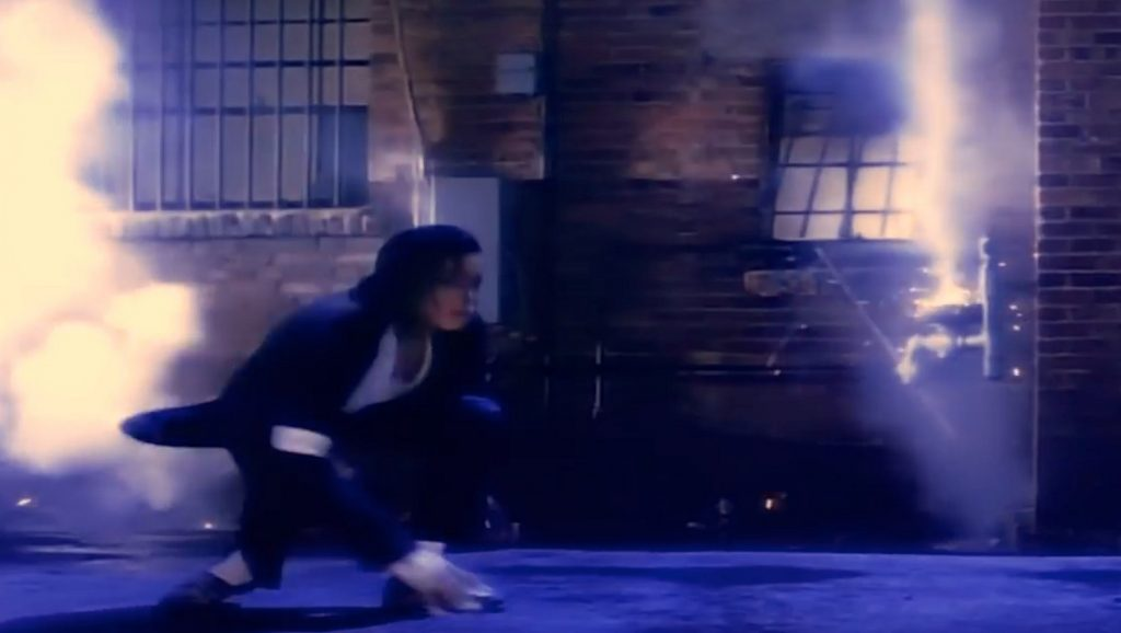 Michael Jackson Black or White Pantera