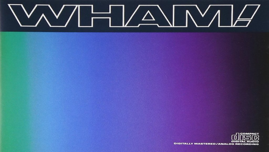 "Portada del álbum ""Music from the Edge of Heaven"" de Wham!"