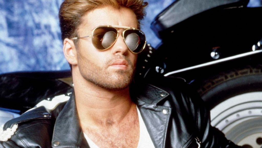 "George Michael en ""Faith"""