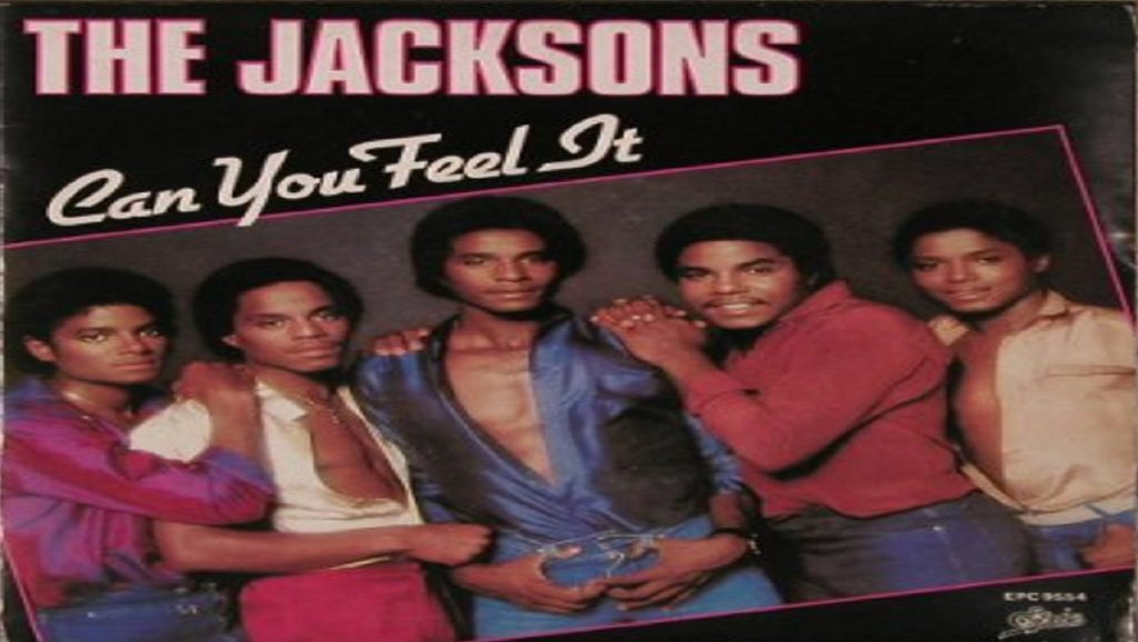 "Portada de ""Can you feel it"" de The Jacksons"