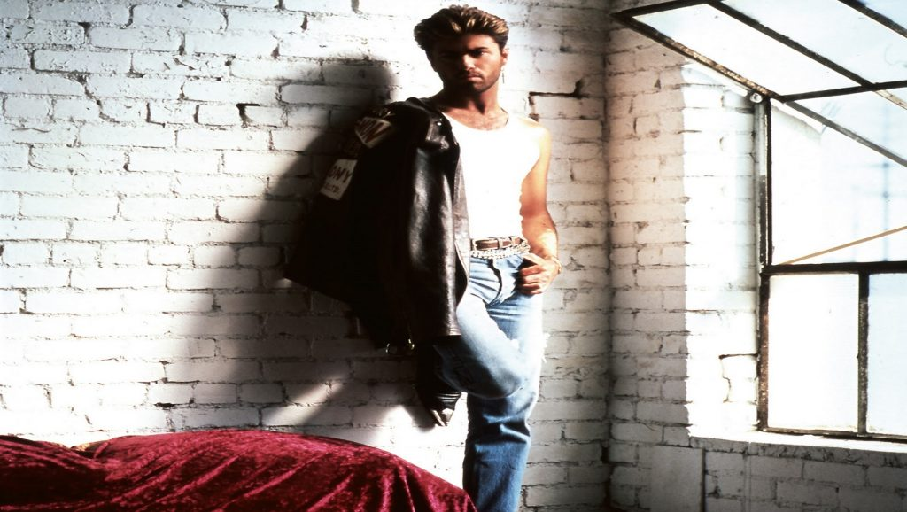 "George Michael durante ""Faith"""