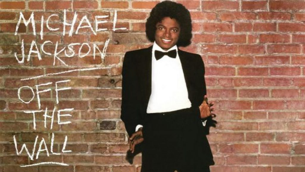 "Portada del álbum ""Off the wall"" de Michael Jackson"
