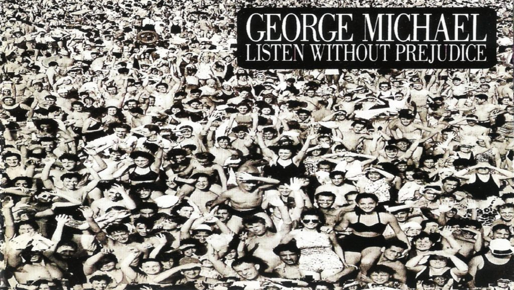 "Portada del álbum ""Listen without Prejudice"" de George Michael"