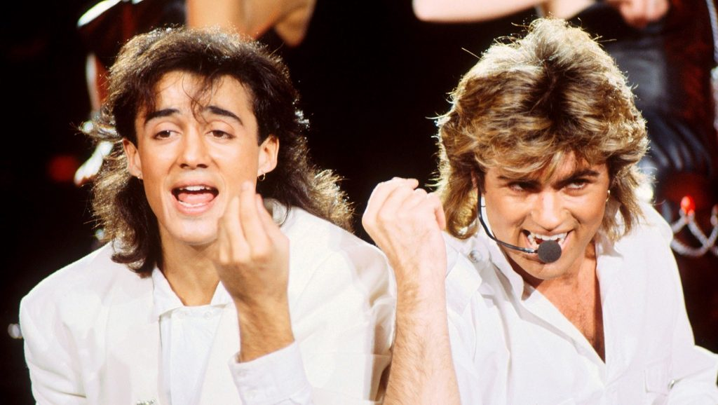 Andrew Ridgeley y George Michael