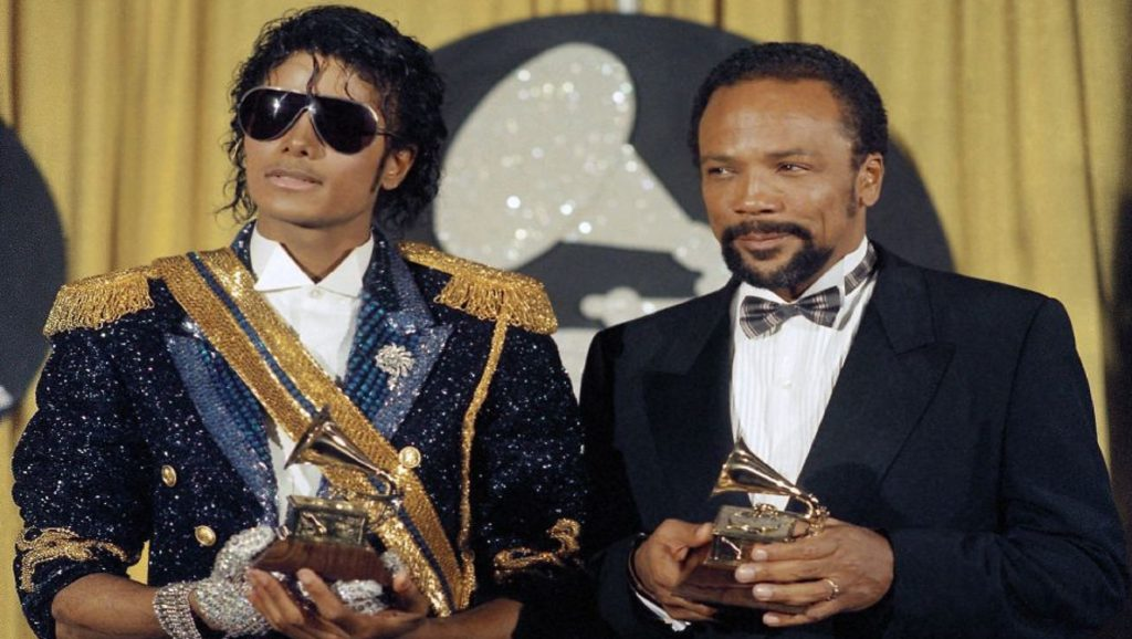Michael Jackson y Quincy Jones