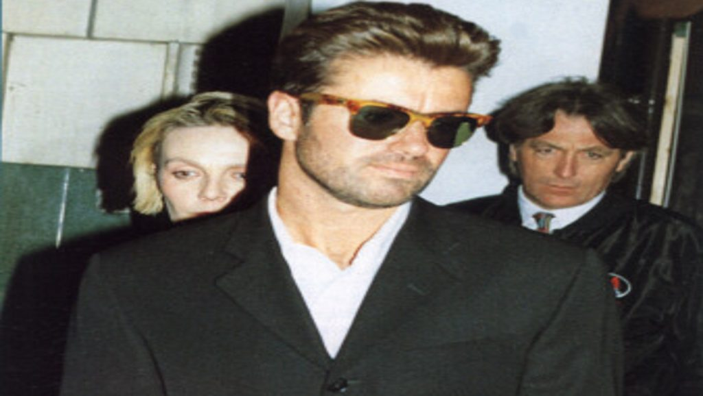 George Michael durante su disputa con Sony
