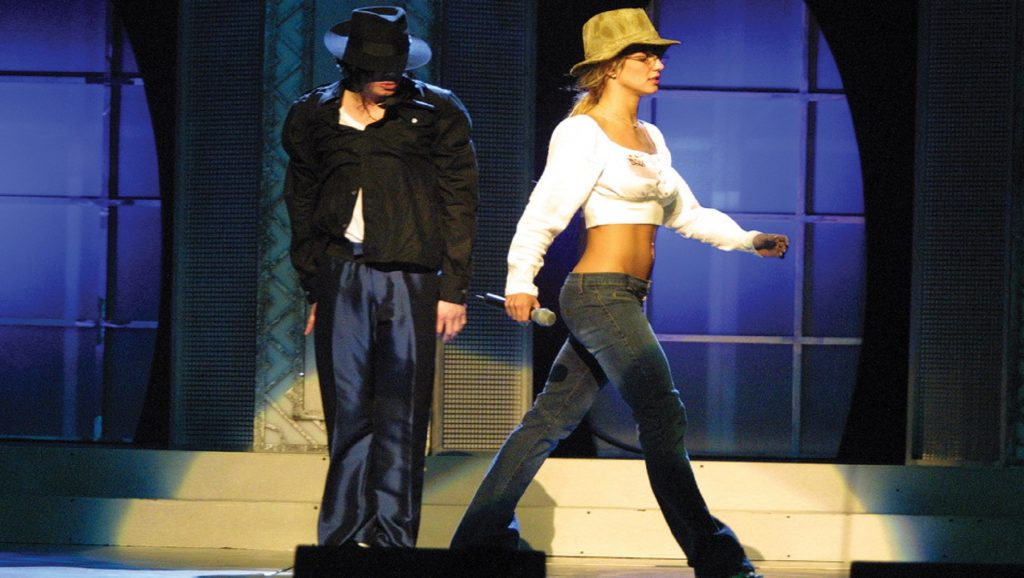 Michael Jackson con Britney Spears