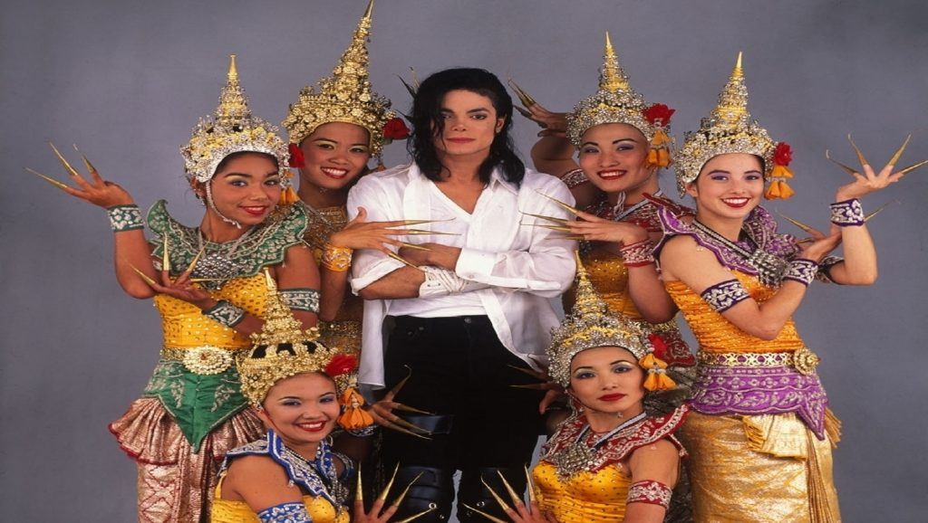 "Michael Jackson en videoclip de ""Black or White"""