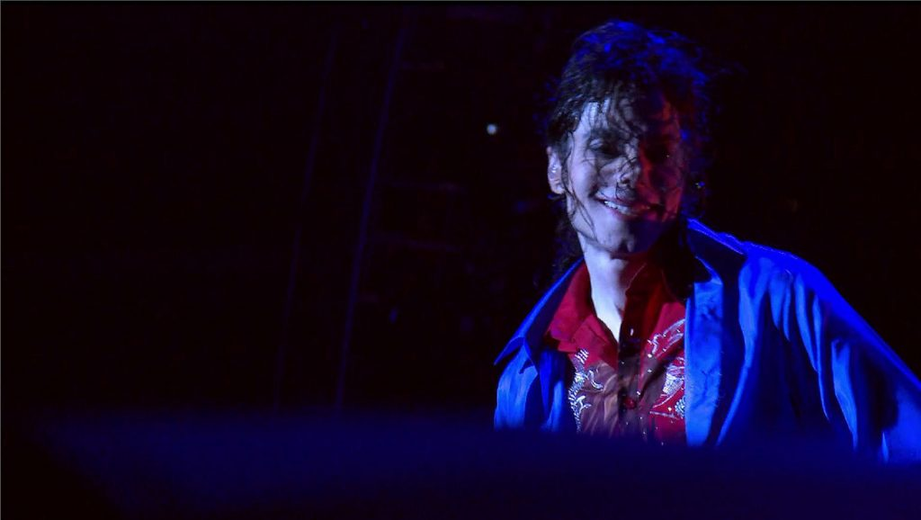 "Michael Jackson durante ensayos de ""This is it"""