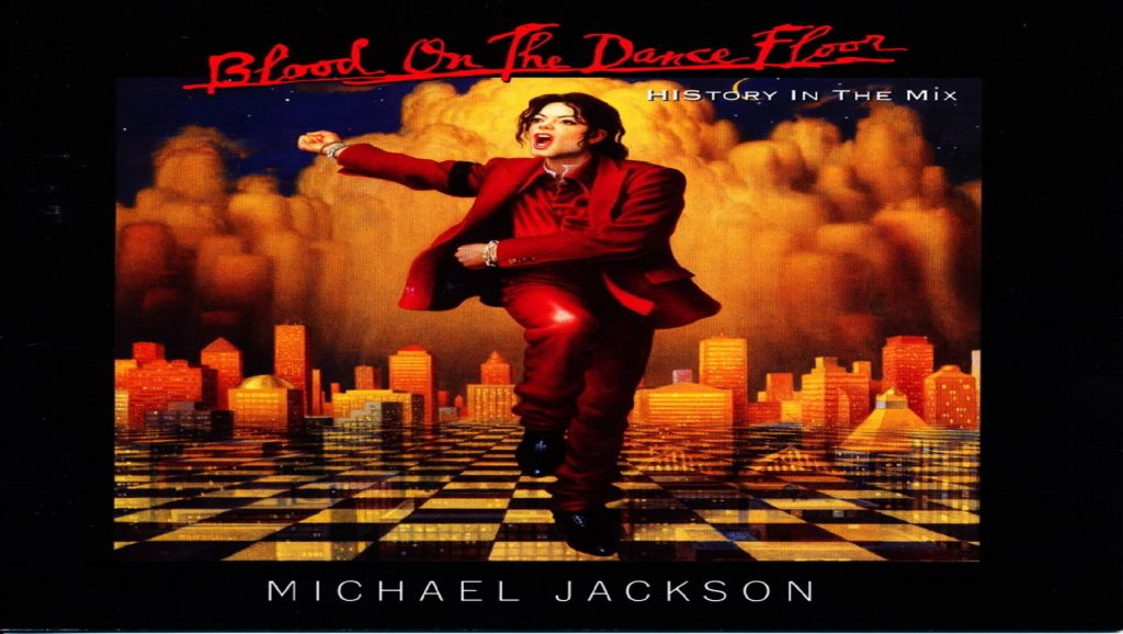 "Portada del álbum ""Blood on the dance floor"" de Michael Jackson"