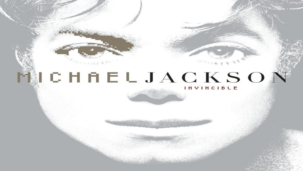 "Portada del álbum ""Invincible"" de Michael Jackson"