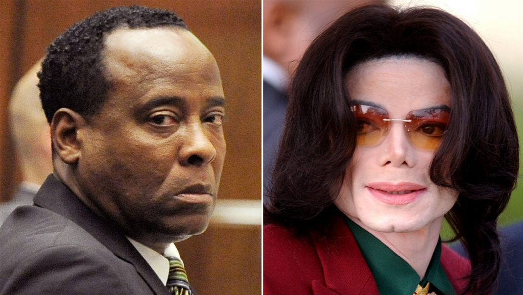 Conrad Murray y Michael Jackson
