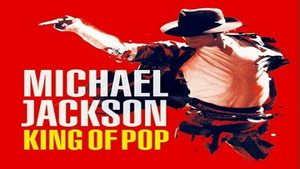 "Portada del álbum ""King of Pop"" de Michael Jackson"
