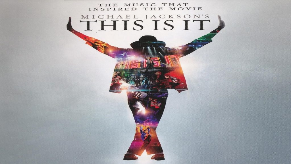 "Portada de la película ""This is it"" de Michael Jackson"