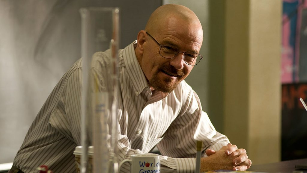 "Bryan Cranston en ""Breaking Bad"""