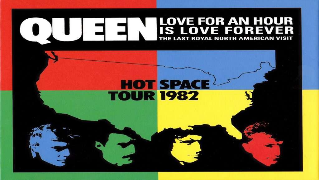 "Gira ""Hot Space"" de Queen"