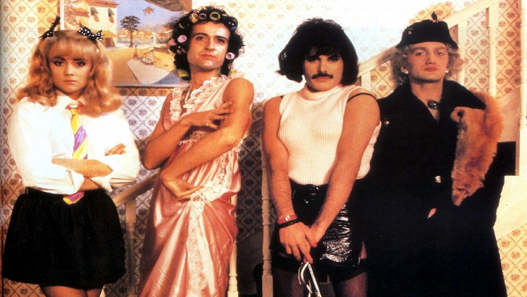 "Videoclip ""I Want To Break Free"" de Queen"