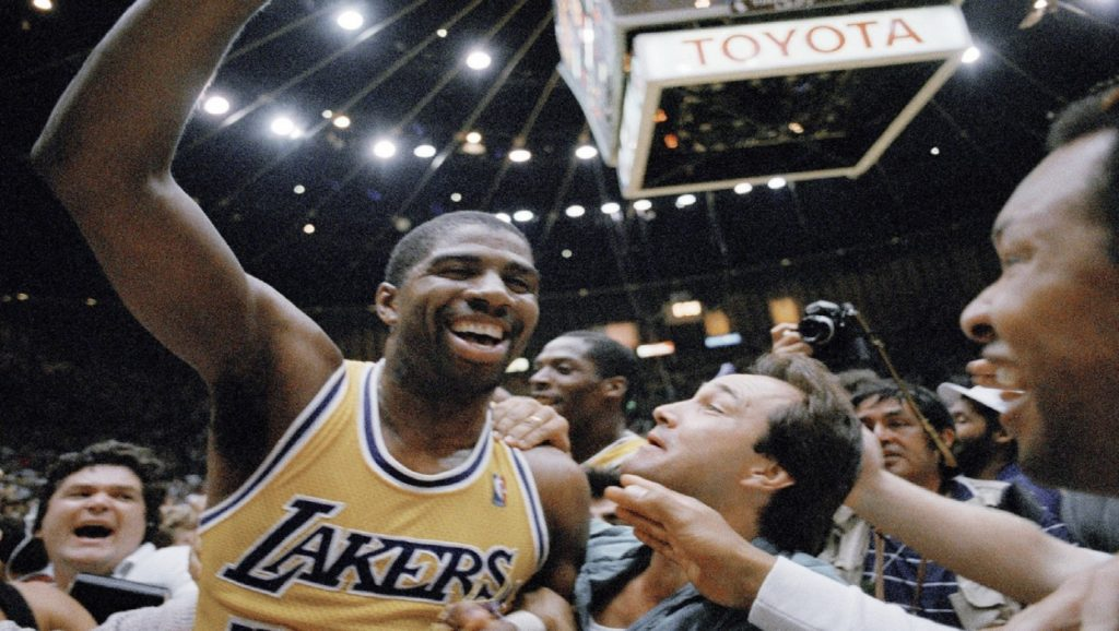 Magic Johnson tras victoria con los Lakers