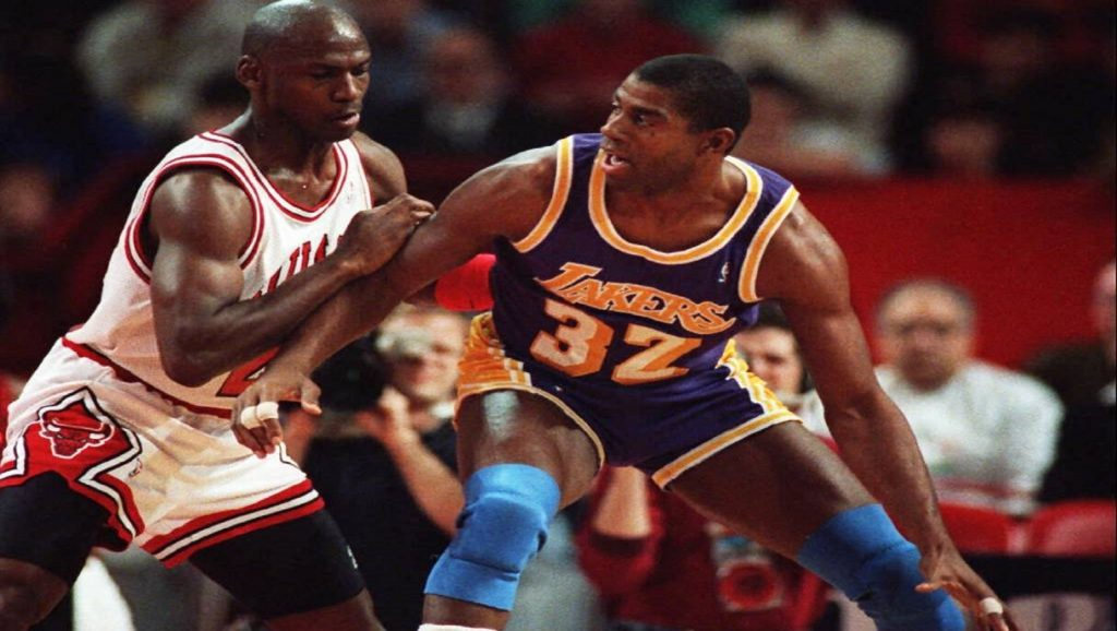 Michael Jordan y Magic Johnson