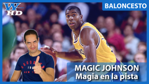 Magic Johnson: Magia en la pista