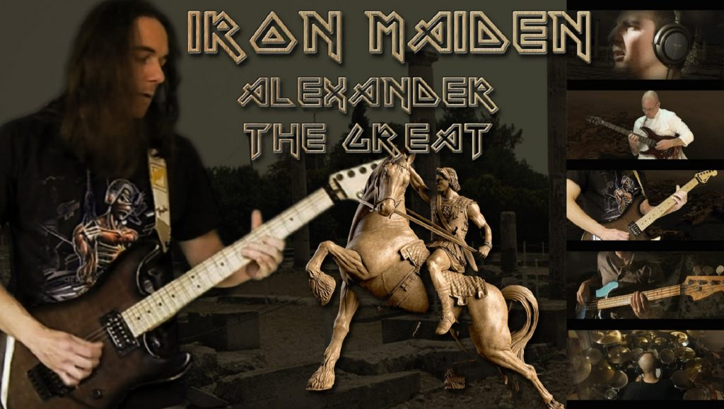 "Canción ""Alexander The Great"" de Iron Maiden"