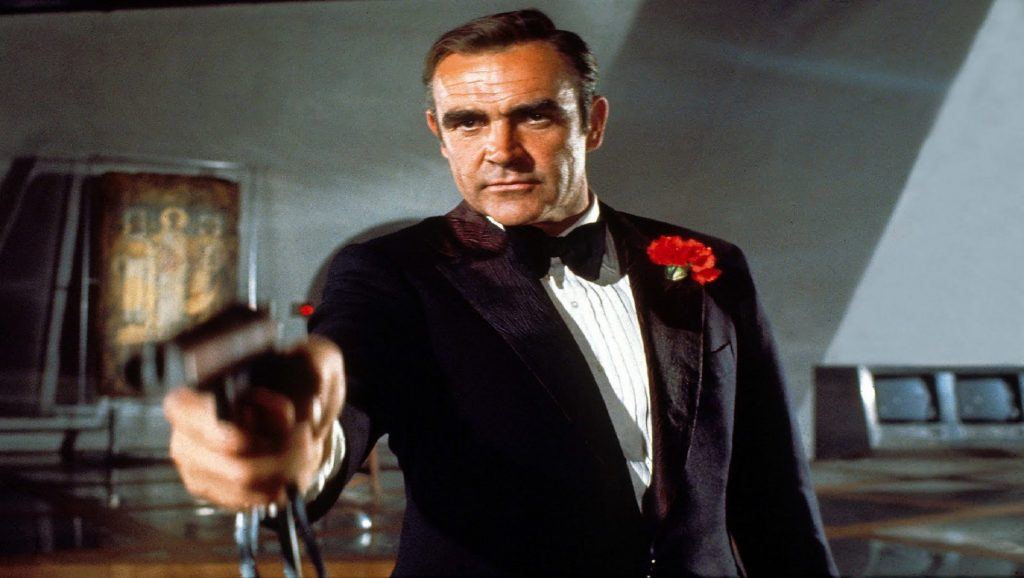 "Sean Connery en ""Diamantes para la eternidad"""