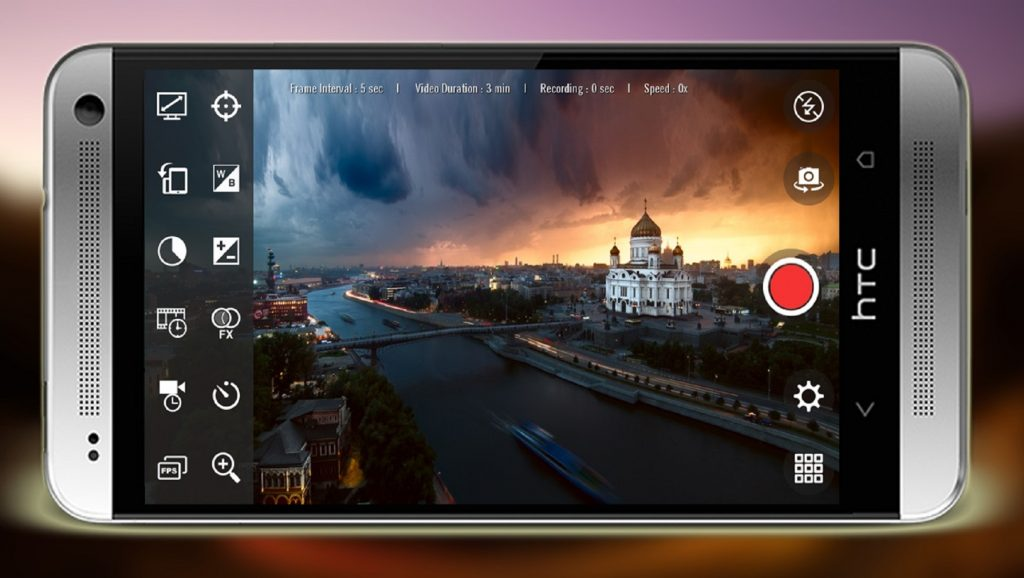 Grabación de vídeo en dispositivo Android