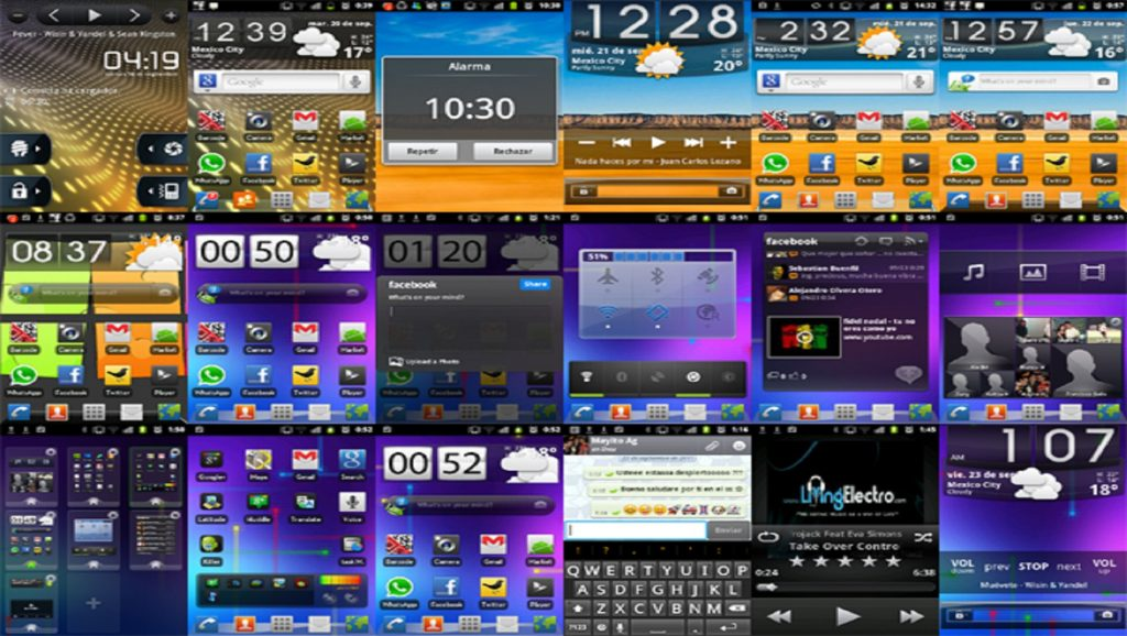 Capturas de pantalla en dispositivos Android