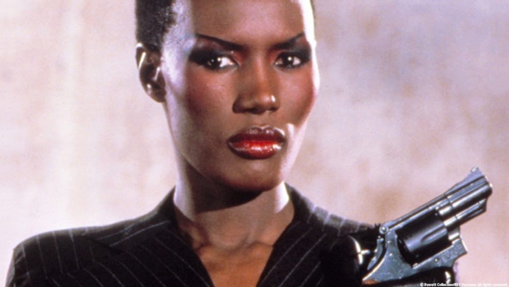 Grace Jones en Panorama para matar