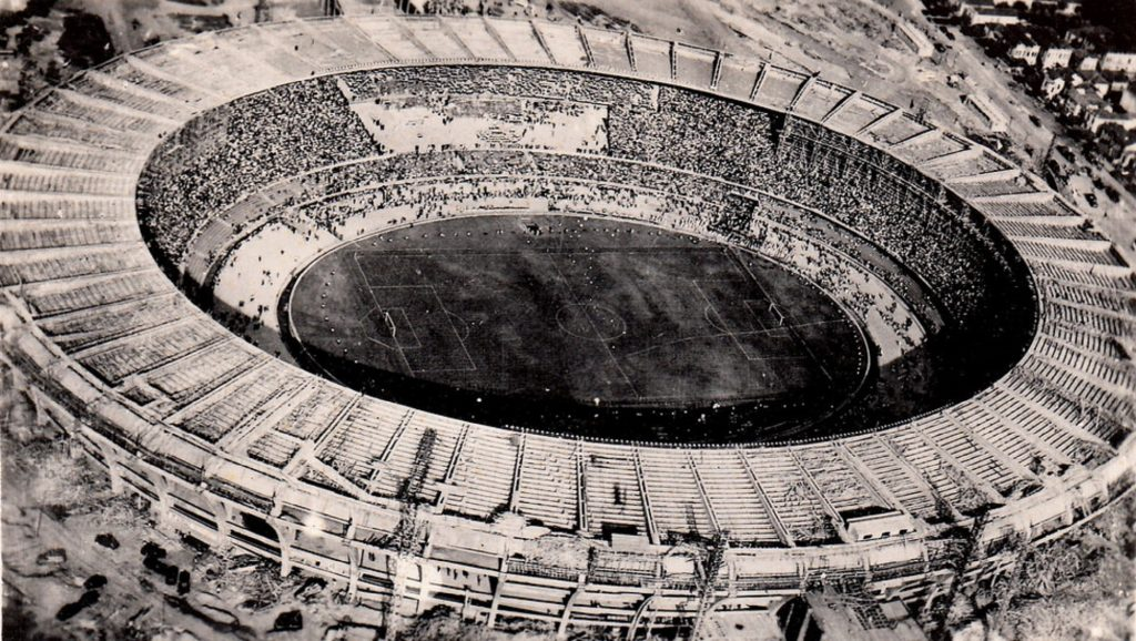 Estadio Maracaná en 1956