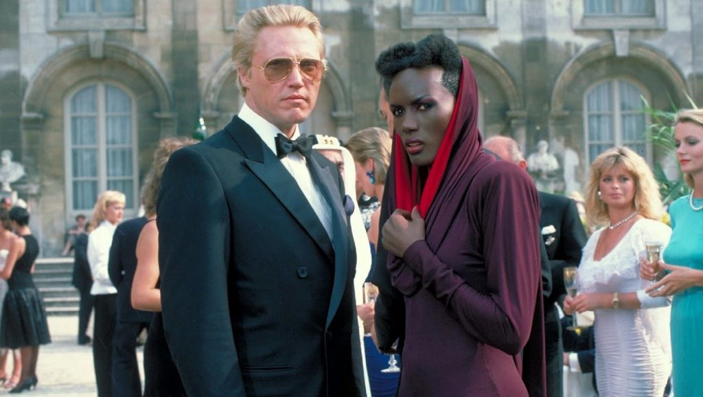 Christopher Walken y Grace Jones en Panorama para matar