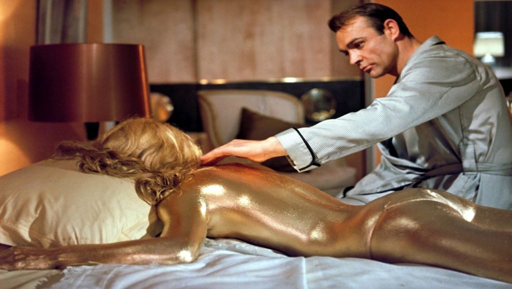 Sean Connery en Goldfinger