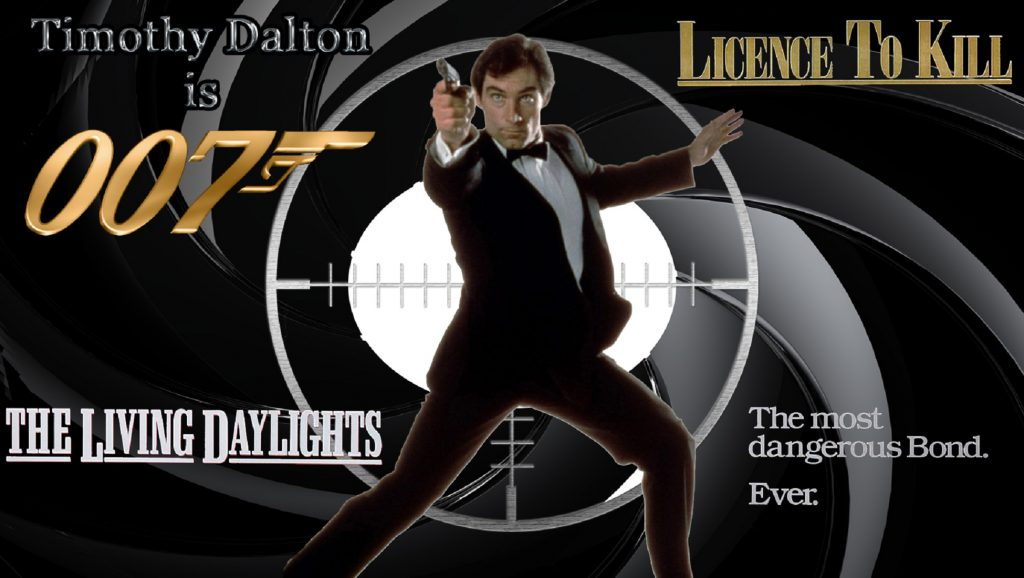 Películas de James Bond de Timothy Dalton