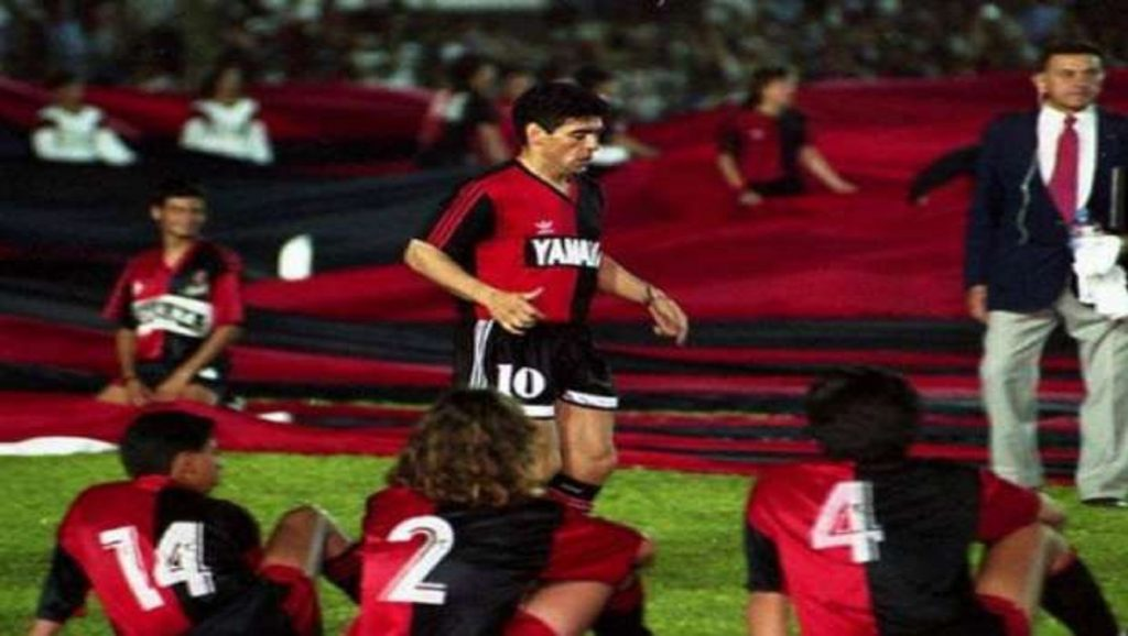 Maradona con Newell's Old Boys