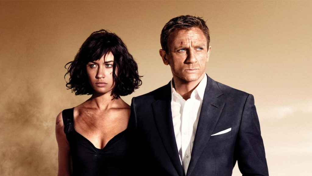 Cartel de Quantum of Solace