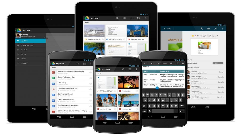 Tablets y blackberries con Android