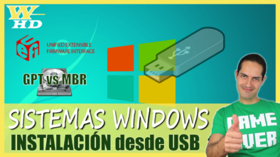 Instalación de Windows desde USB