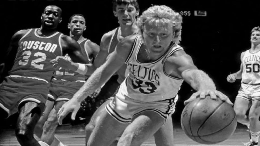 Larry Bird contra los Houston Rockets