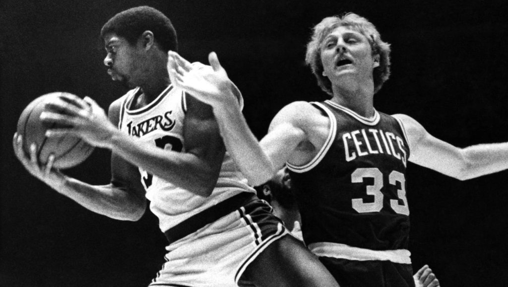 Magic Johnson y Larry Bird